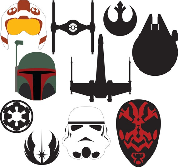 Star Wars Bundle Svg Amp Dxf Files From Hatchwork On Etsy