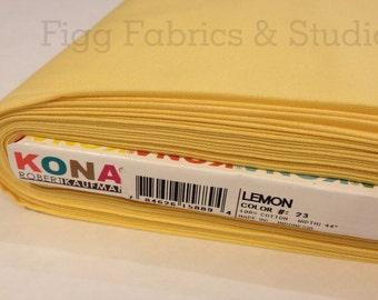 KONA Cotton in Lemon (Color 23)
