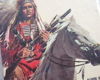 Large Hardback Book About Indians/Matt Chisholm