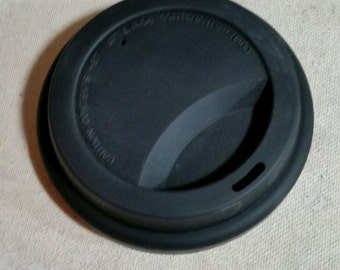 """3.75"""" Black lid"""