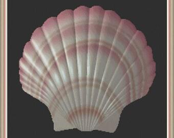 Seashell 2 Cross Stitch Pattern