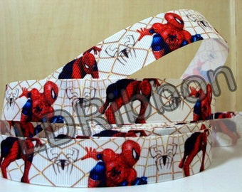 "1"" Insect Inspired Grosgrain Ribbon"