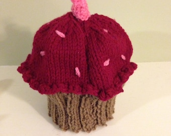 Cupcake Hat - infant/child