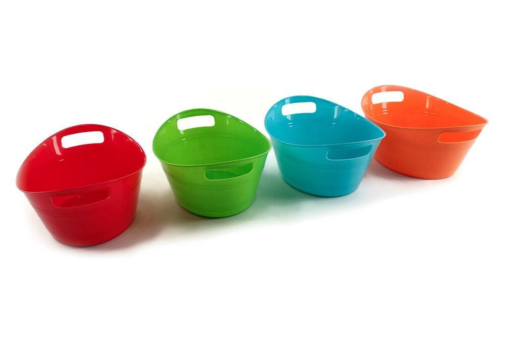 Mini Oval Tub 6 Plastic Toy Tub Bird Toy Part Sugar