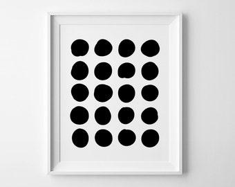 Abstract poster, affiche scandinave, printable wall art, geometric art kids nursery print, minimalist art, Scandinavian print, nursery decor