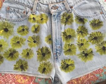 Sunflower highwaisted shorts