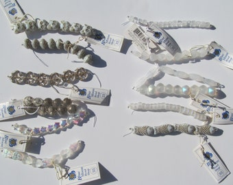 CZECH  Glass - Crystal  - Beads  NWT   lot of  12