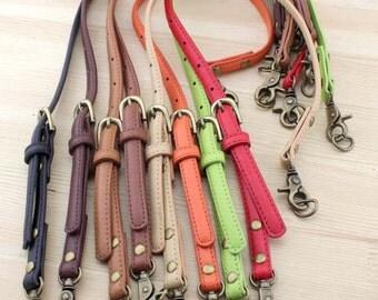 1 PCS PU leather /  Faux Shoulder Bag Purse Straps, Adjustable Handbag Straps