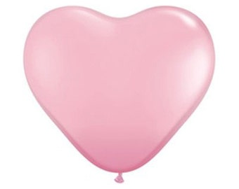"Premium Quality 36"" Giant Pink Heart Balloon 36 inch Balloon Wedding Party Decor prop"