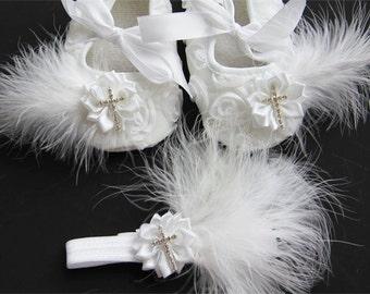 Christening Shoes girl ,Baptism shoes,baptism shoes girl, baptism shoes, Baptism baby shoes, Ready to ship baby girls christening shoes