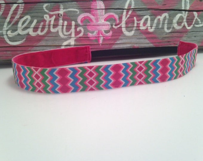 Nonslip Headband Jazzy Chevron