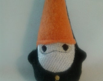 Pocket Gnome, Tiny Stuffie, Stuffed Creature, Forest Creature, Magical Creature, Garden Gnome, Forest Gnome