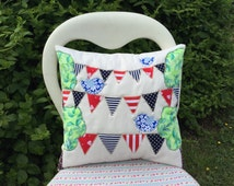 Lovely Easy Appliqué Cushion Cover Beautiful Bunting