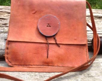 Handmade soft leather purse (1A)
