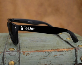 Teacher Black Wayfarer Sunglasses