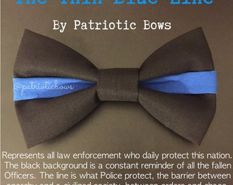 The Thin Blue Line Bow