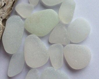Pretty Tones of White Scottish Sea Glass SG 7.7.15.6