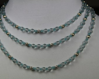 Aquamarine necklace take 25% off!