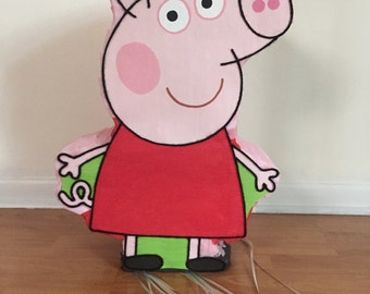 Amazing Peppa Pig Pinata party !!!!!