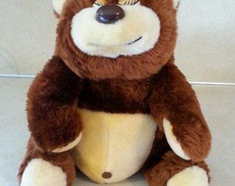UNION Toy TEDDY BEAR Stuffed Plush 1982 Boys or Girls