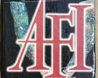 AFI. Handmade Tile Coaster. Only one made.