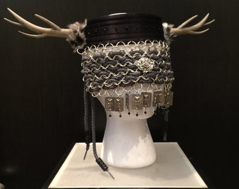 Chainmail Headpiece by Topher Adam