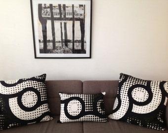 Barabara Brown 1970's cushions