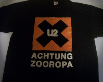 U2 Achtung Zooropa tour t 1993 VERY RARE!