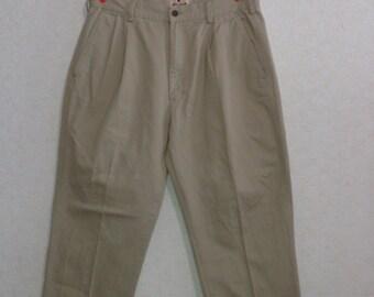 Mens Pants classic  WOOLRICH,beige,Size W34  L30
