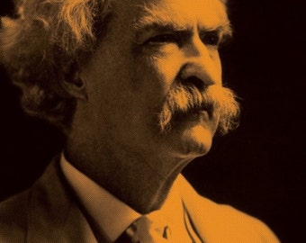 MARK TWAIN QUOTE Samuel Clemmons  poster 11 X 17