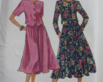 Simplicity 8585 - Misses / Miss Petite Skirt and Top - It's So Easy 8585