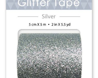 Glitter Tapes 4 Different Colors -50mm by 5m
