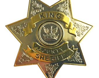 The Walking Dead Sheriff's Dept Badge