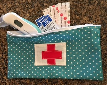 Small Medical Emergency Bag for Baby / Toddler Boy or Girl