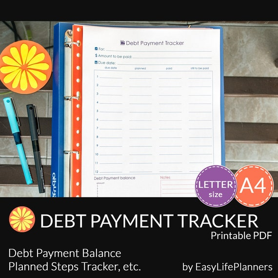 Printable Debt Tracker Worksheet along with s le personal budget excel ...