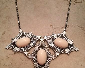 Dudine Frida Diamond Collar Necklace Ivory