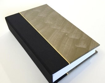 """Gold and black accordion book with blank pages, memory book, Christmas gold 3.375"""" x 5.5"""""""