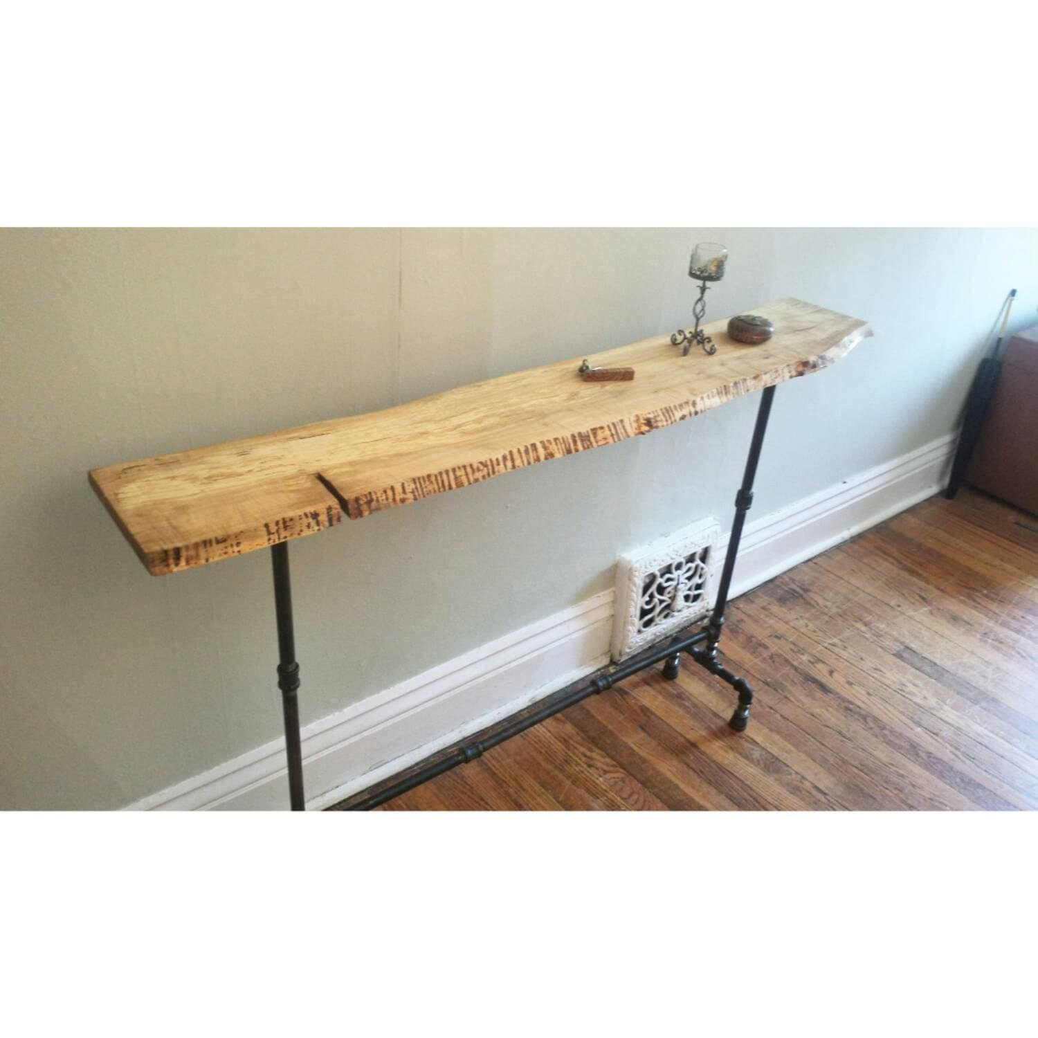 Reclaimed Wood Console Table Wood Entrance By