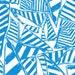 """18"""" x 18"""" or 1 YARD Lilly Pulitzer Fabric Blue Yacht Sea Summer 2015"""