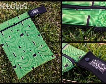 Double Pocket Dry/Wetbag- Circuit Board