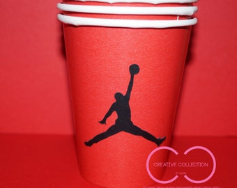 Jumpman Inspired Drinking Cups