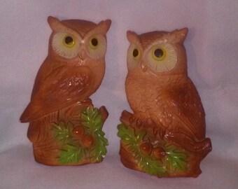 Owls by Miller Studios Owls 1981