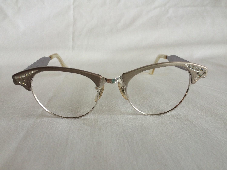 Vintage 1950s cat eye glasses frames by BargainHuntersKansas