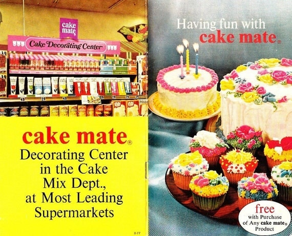 Cake Mate Decorating Tips Instructions