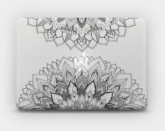 Transparent MacBook Skin MacBook Sticker MacBook Decal Laptop Skin Laptop Sticker MacBook Air MacBook Pro - Mandala 9b
