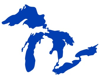 "Great Lakes Decal, 5""x3.5"""