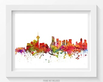 Vancouver Poster, Vancouver Skyline, Vancouver Cityscape, Vancouver Print, Vancouver Art, Vancouver Decor, Home Decor, Gift Idea 08