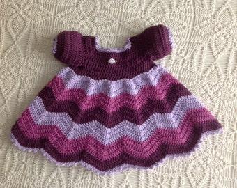 Crochet Dress 3-6 Months  PATTERN Jennifer