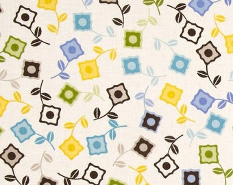 Power Pop Sweet Cornflower Fabric by Jenean Morrison for Free Spirit by the yard