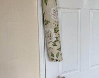 Shabby Chic Floral Carrier Bag Holder